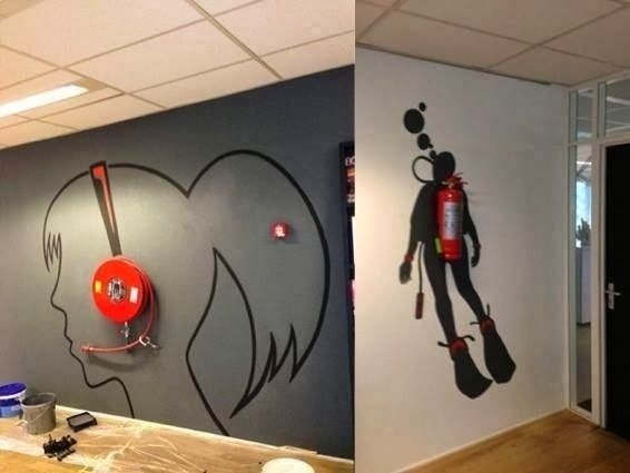 creative office walls. Top 3 Office Design Ideas For Walls. Magnetic Wallpaper, Decals , Walltalkers Creative Walls N